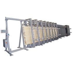 Пресс вертикальный ПВ 007-9000/ -12000 Бакаут Сращивание по длине Столярные станки
