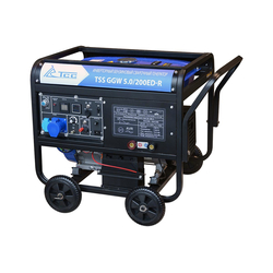TSS GGW 5.0/200ED-R Генератор сварочный бензиновый ТСС Бензиновые Сварочные генераторы