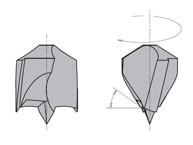 L=70 S=Ø10x20 Глухие свёрла CMT Свёрла и зенкеры Инструмент